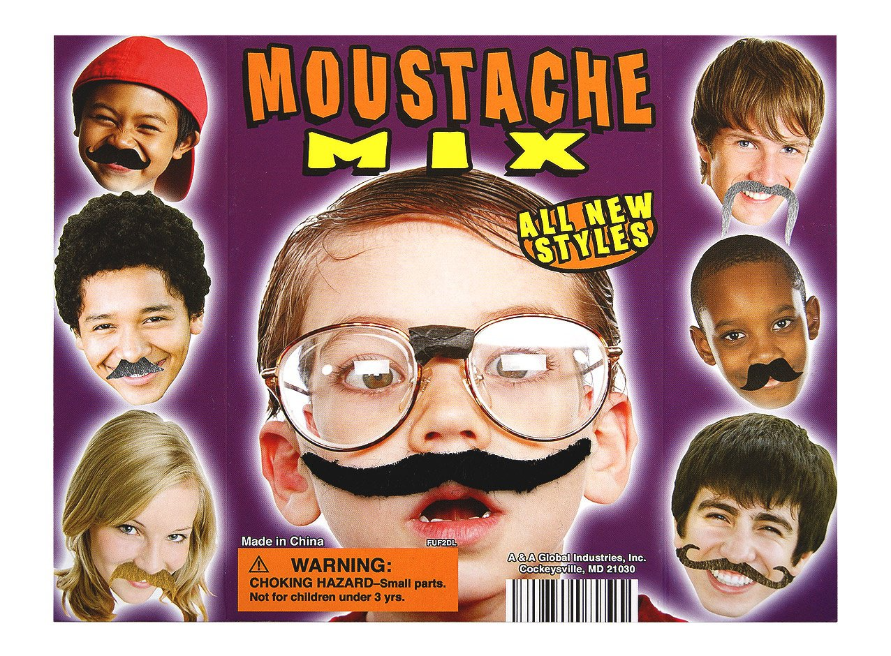 Moustache Mix (display)