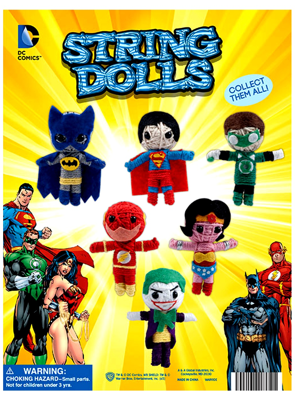 DC Comics String Dolls 2