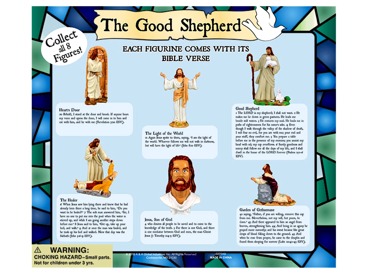 The Good Shepherd Figurines 2''