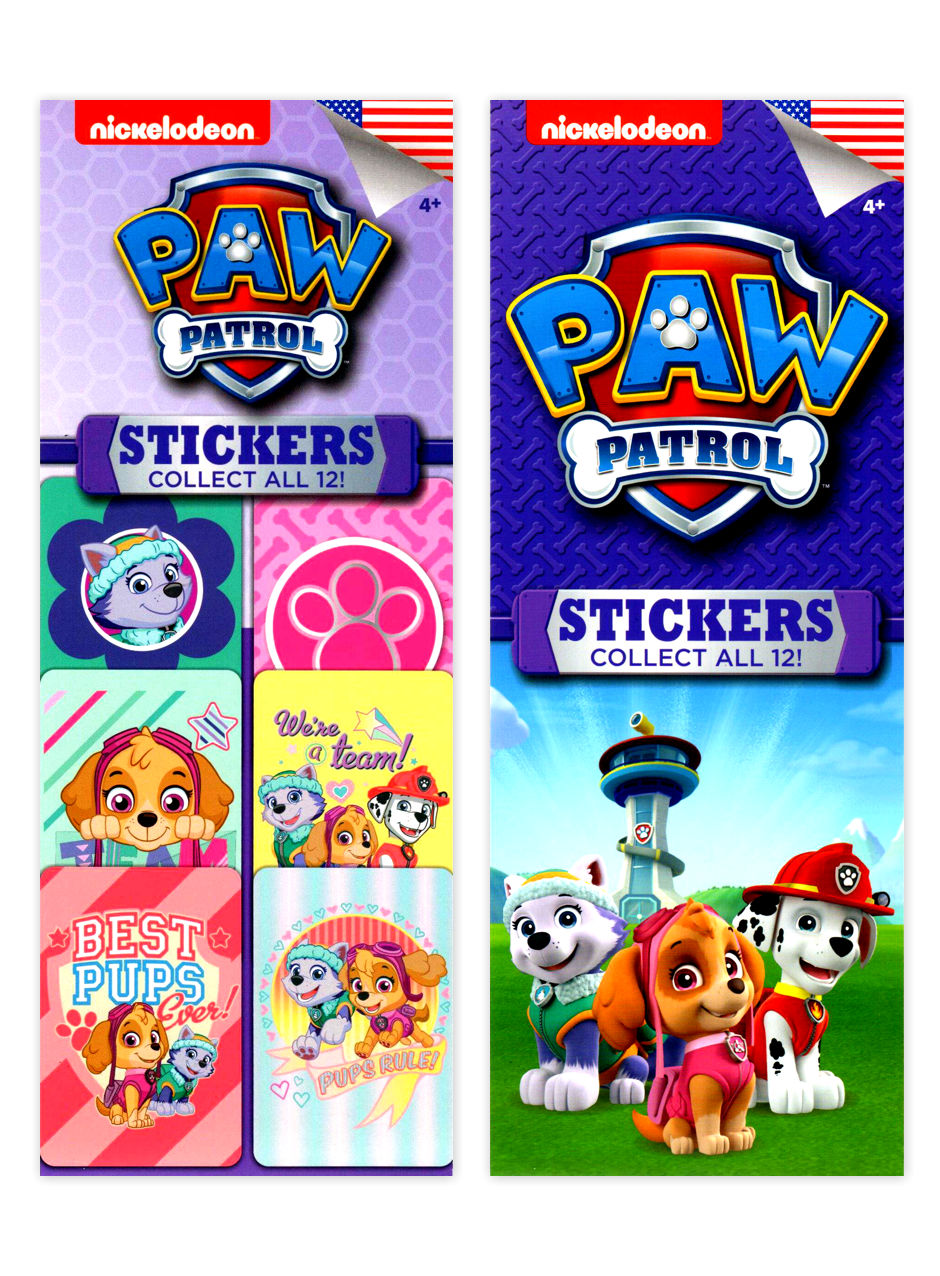 Paw Patrol 2 Stickers (display)