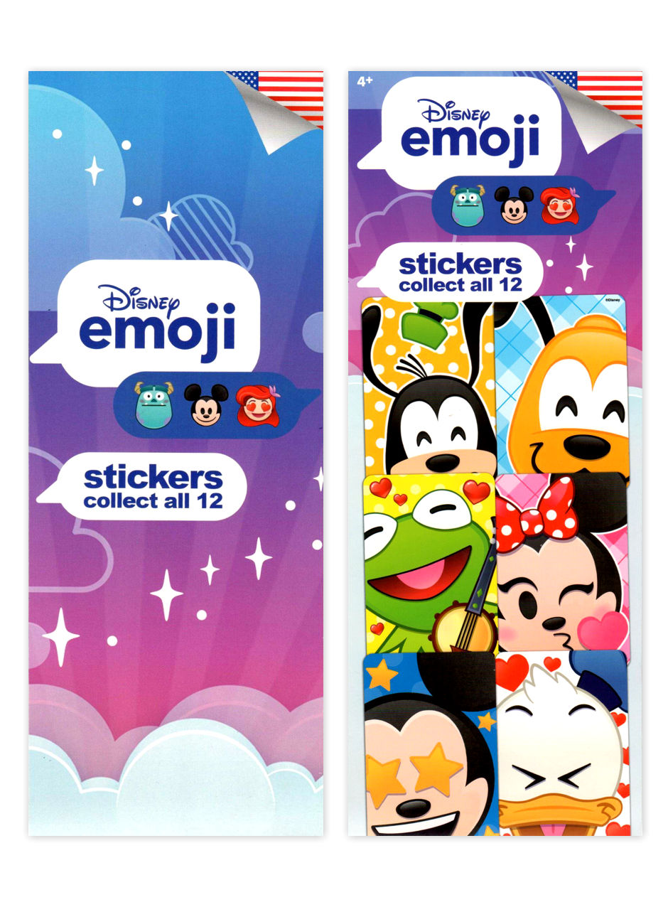 Disney Emoji Stickers (display)