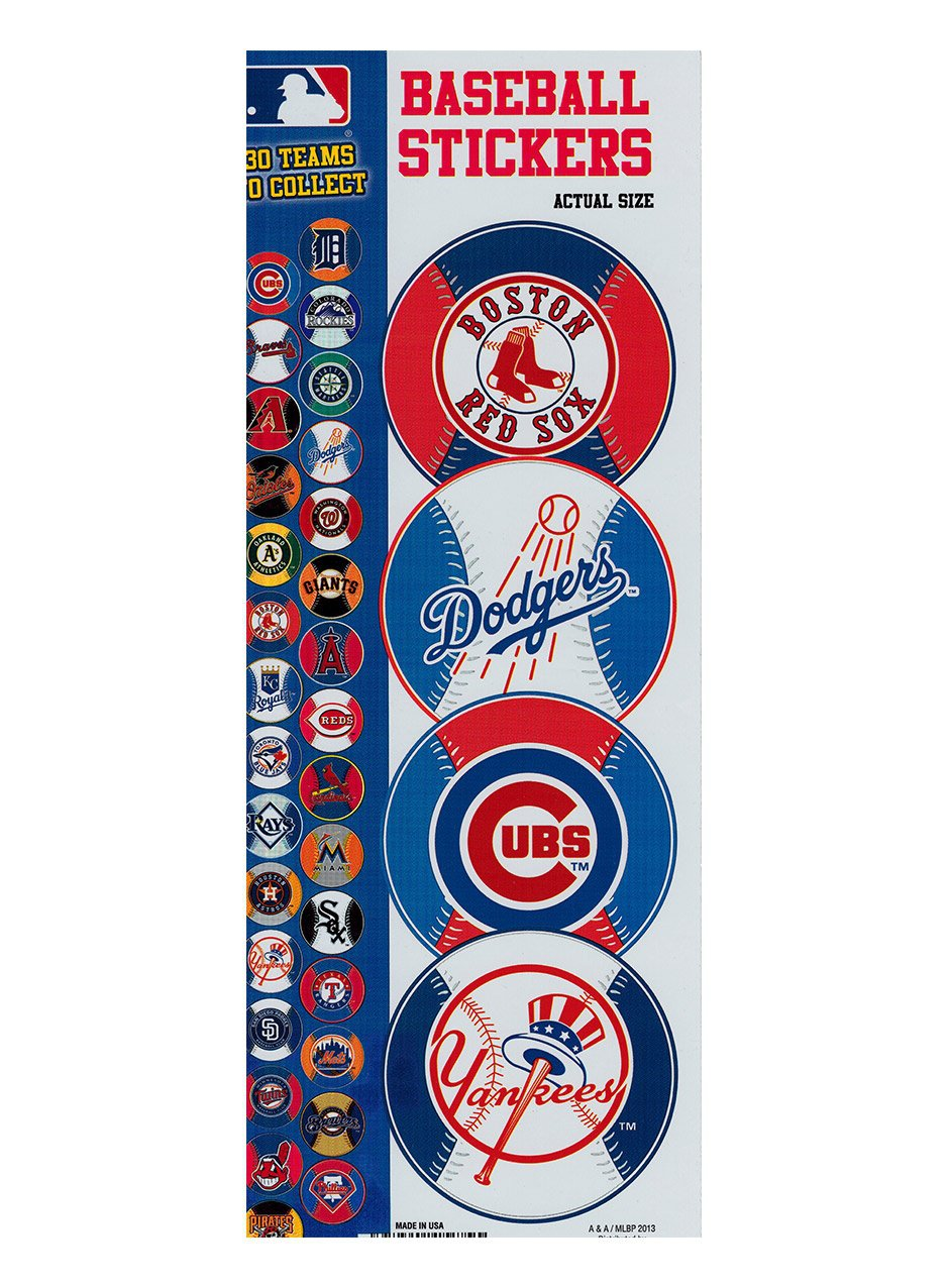 Stickers Prismatic Baseball (display)