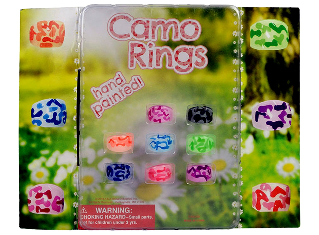 Camouflage Rings 2''