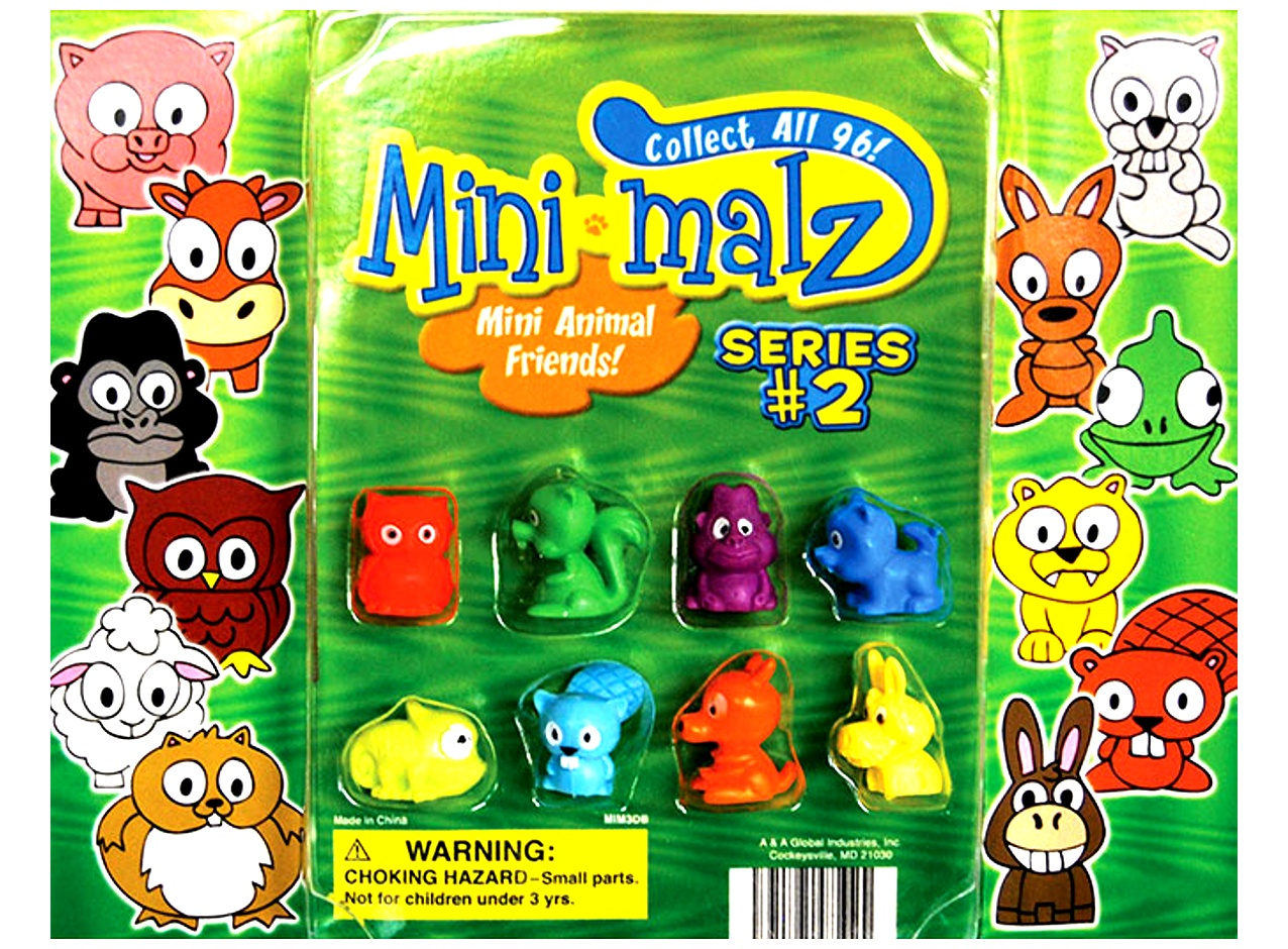 Mini-malz Series 2 Figurines 2