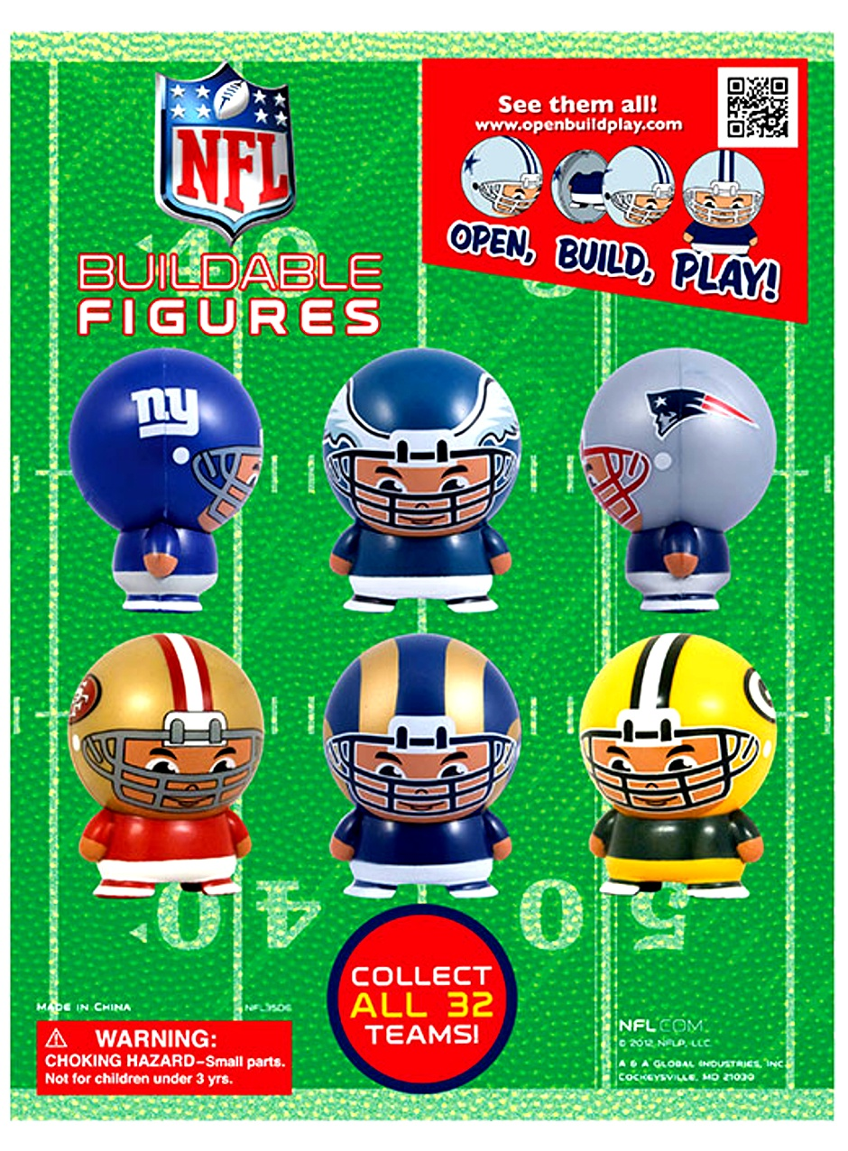 NFL Capsule Buildable Figurines 2
