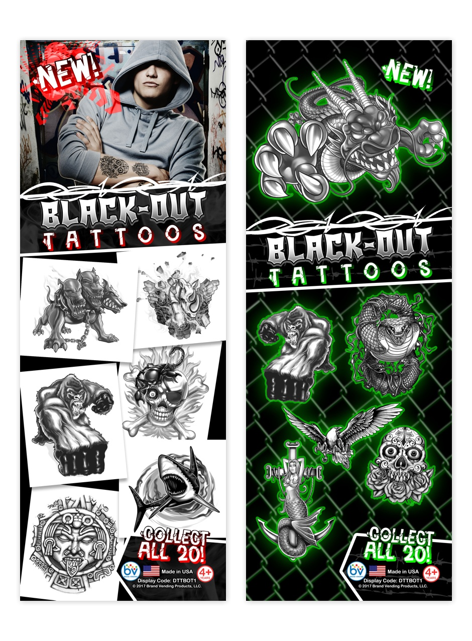 Black-Out Tattoos