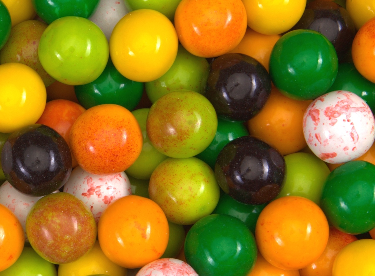 Fruit Stand Gumballs 22 mm