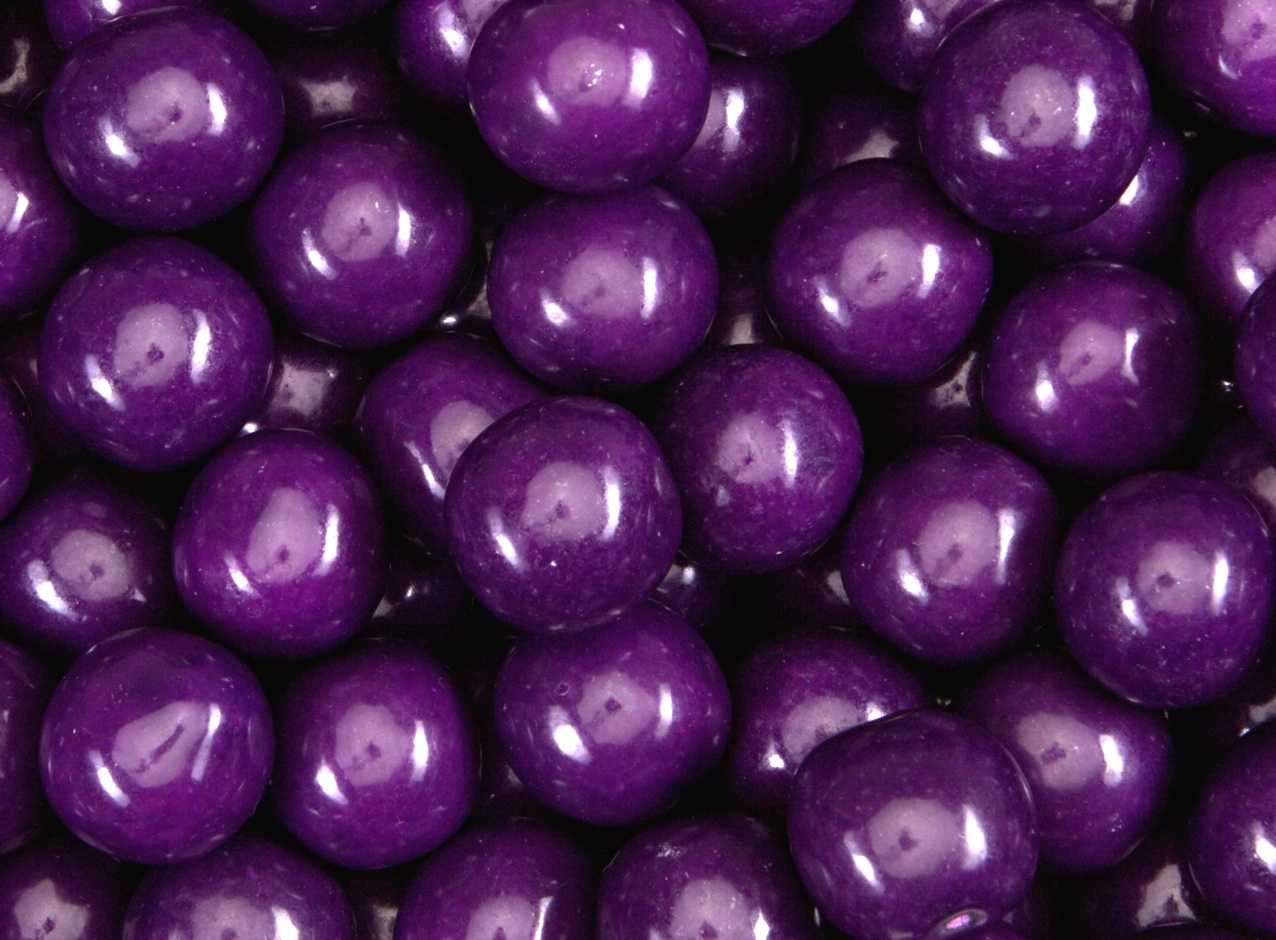 Grape Gumballs 23 mm