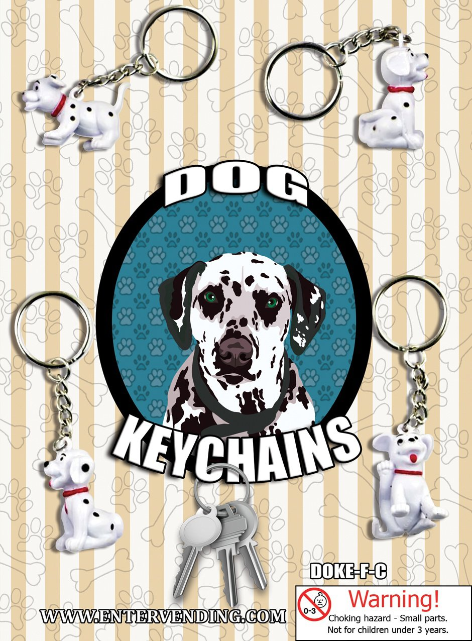 Dog Keychains (display)