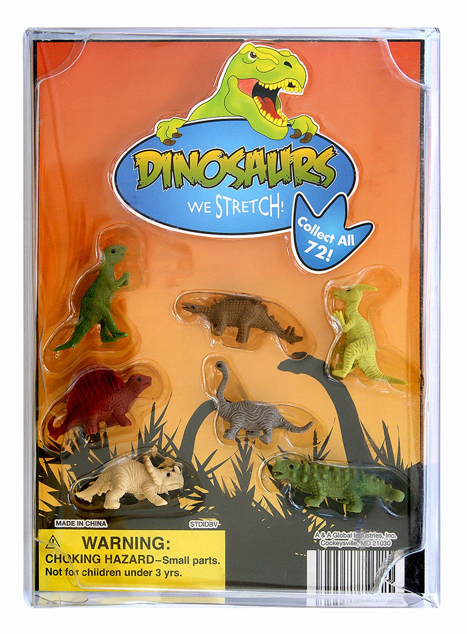 Stretch Dinosaurs (display)