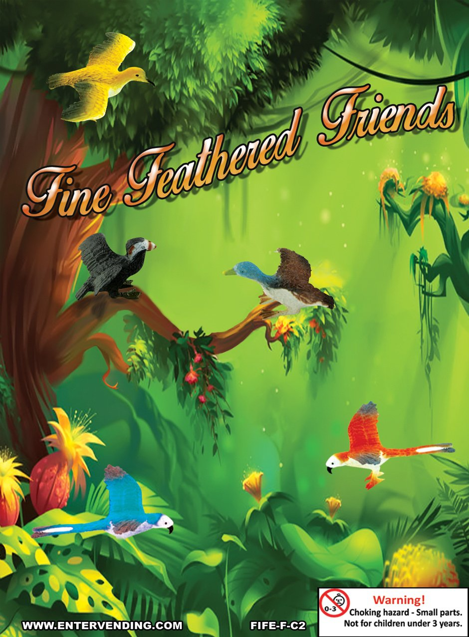 Fine Feathered Friends Mix (display)