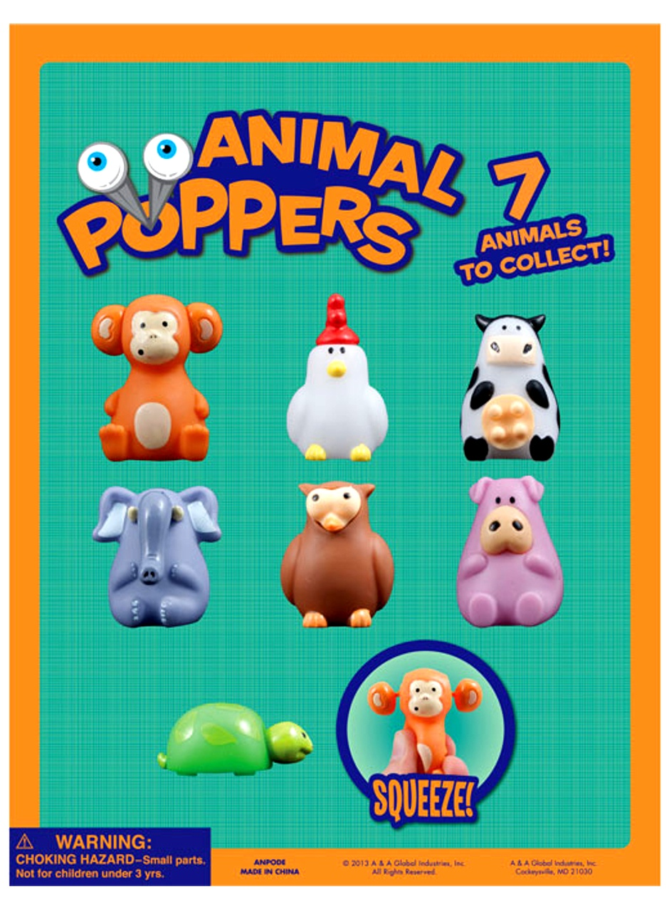 Animal Poppers & Mini-malz Mix 2''