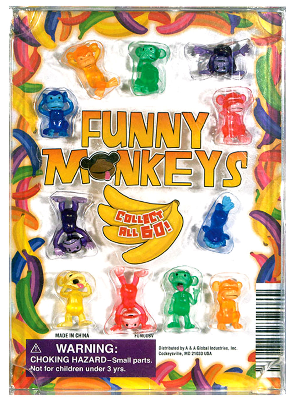 Funny Monkey Figurines 1