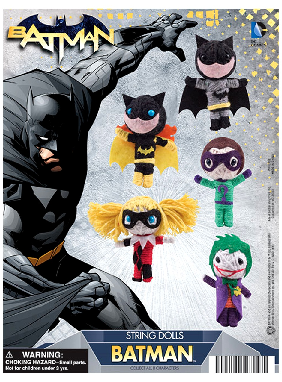 DC Comics Batman String Dolls 2