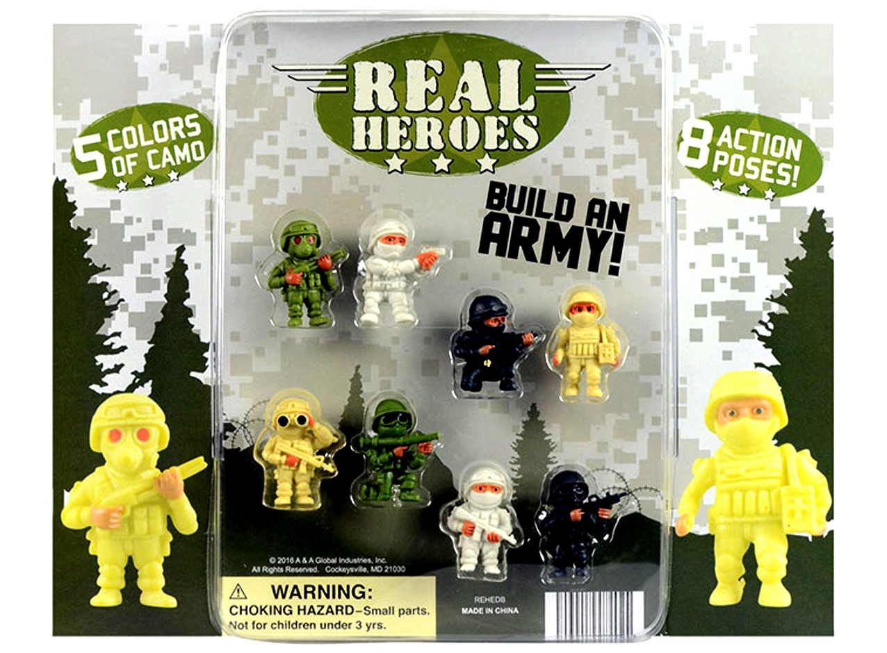 The Real Heroes Figures 2