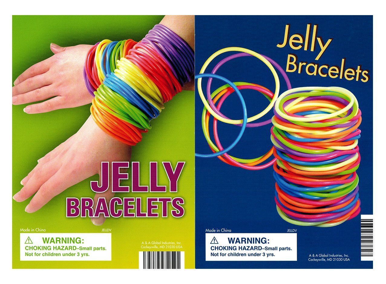 Jelly Bracelets (displya)