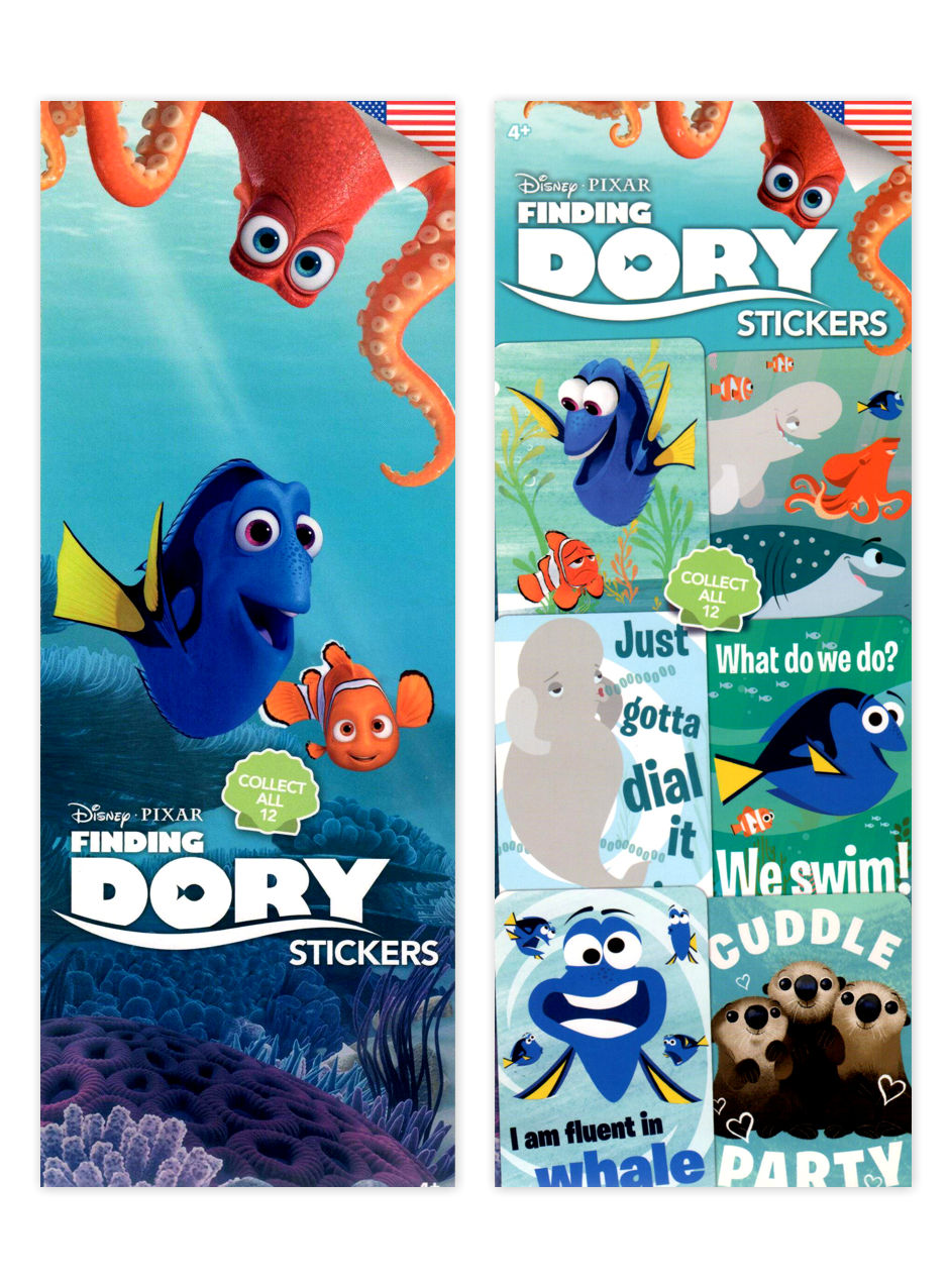 Disney's Finding Dory Stickers