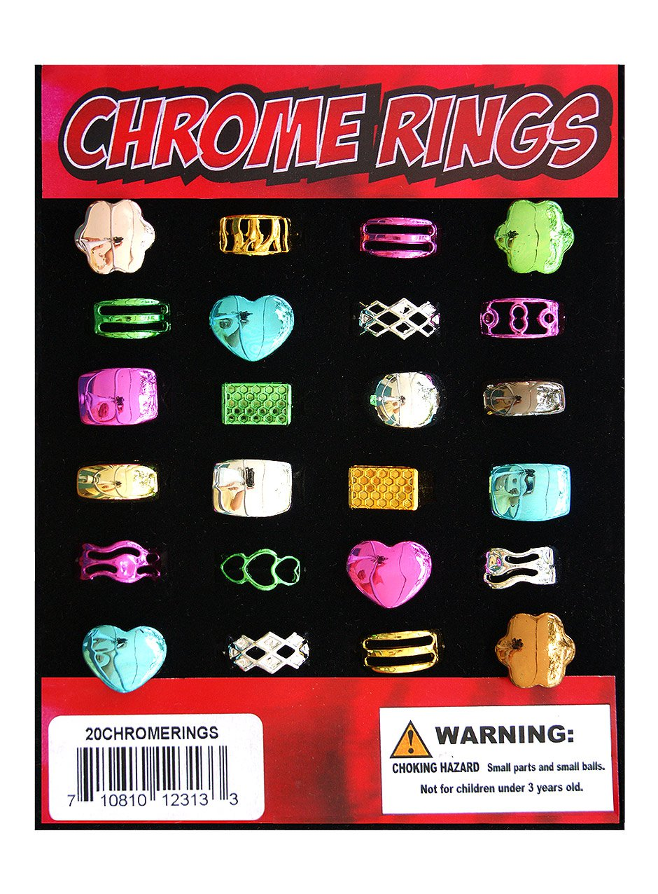 Chrome Rings (display)