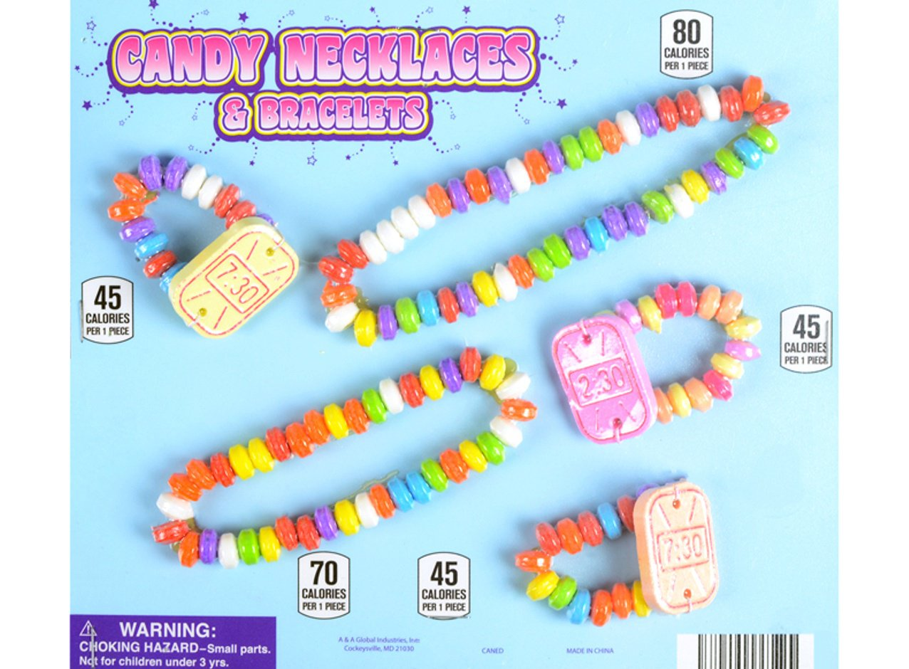 Candy Necklace & Bracelet 2