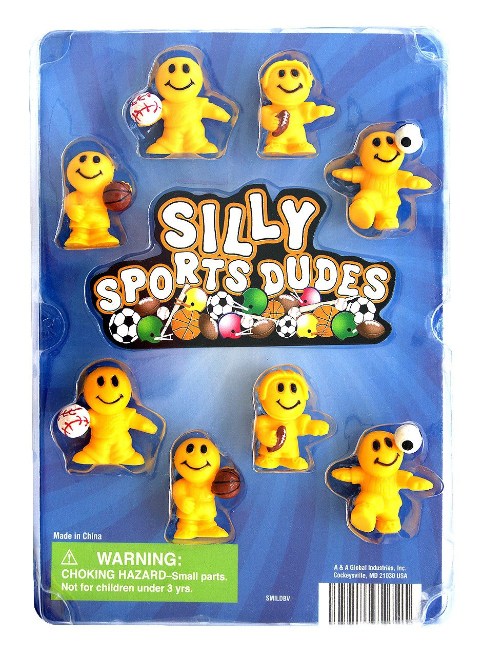 Silly Sports Dudes (display)