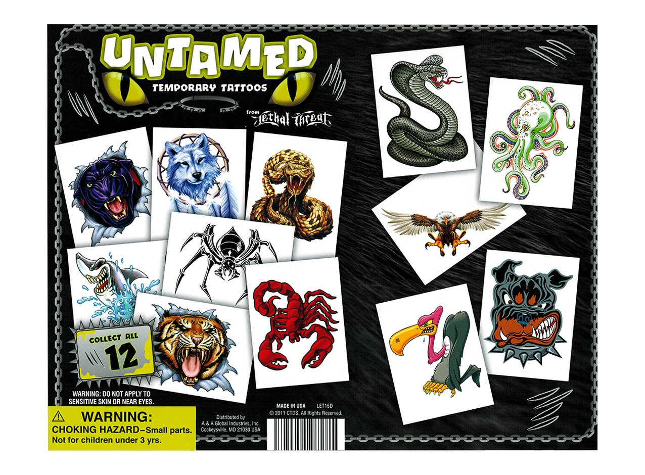 Untamed Tattoos 1