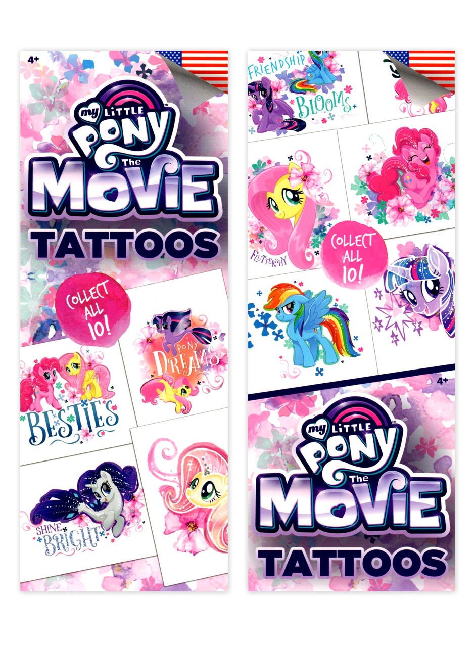 My Little Pony 2 Tattoos