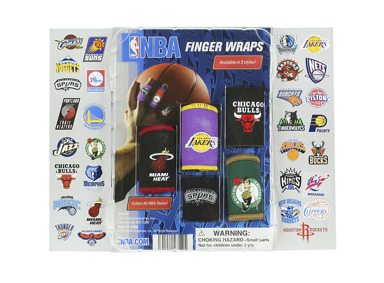 NBA Finger Wraps 2