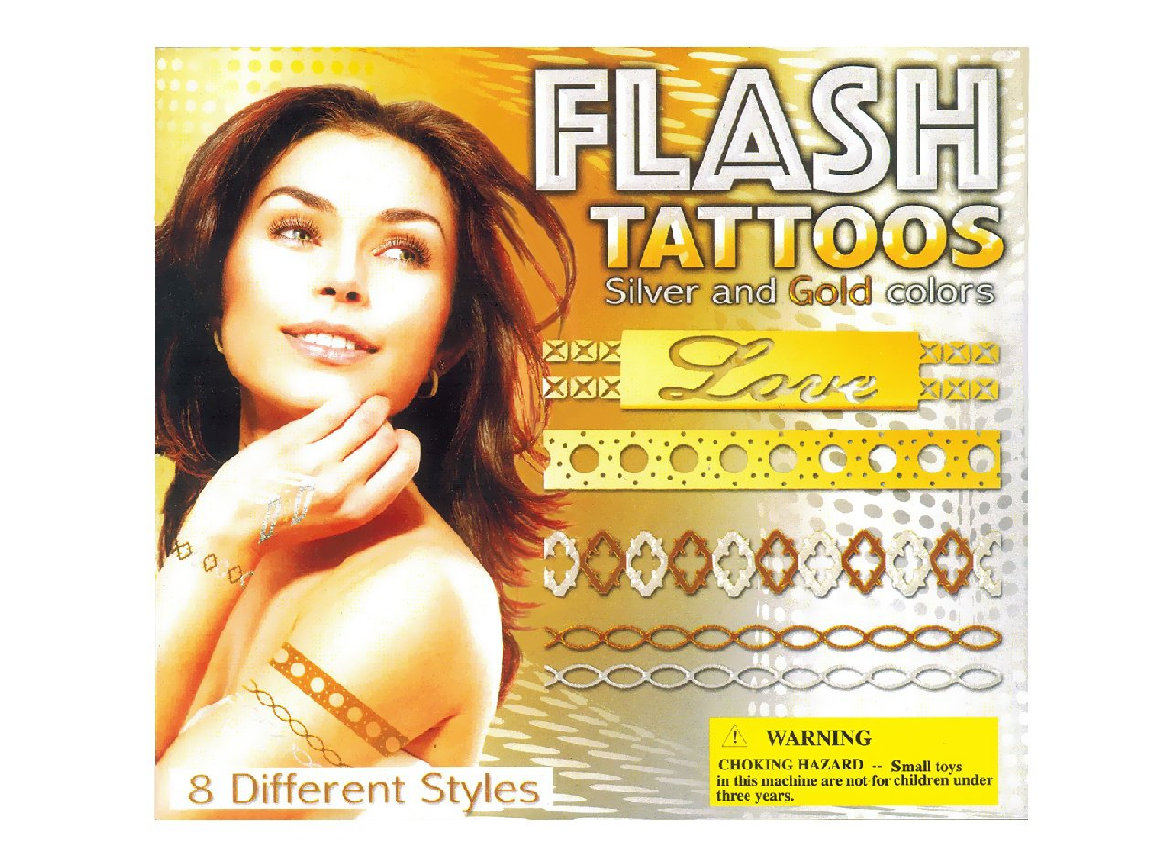 Flash Tattoos (display)