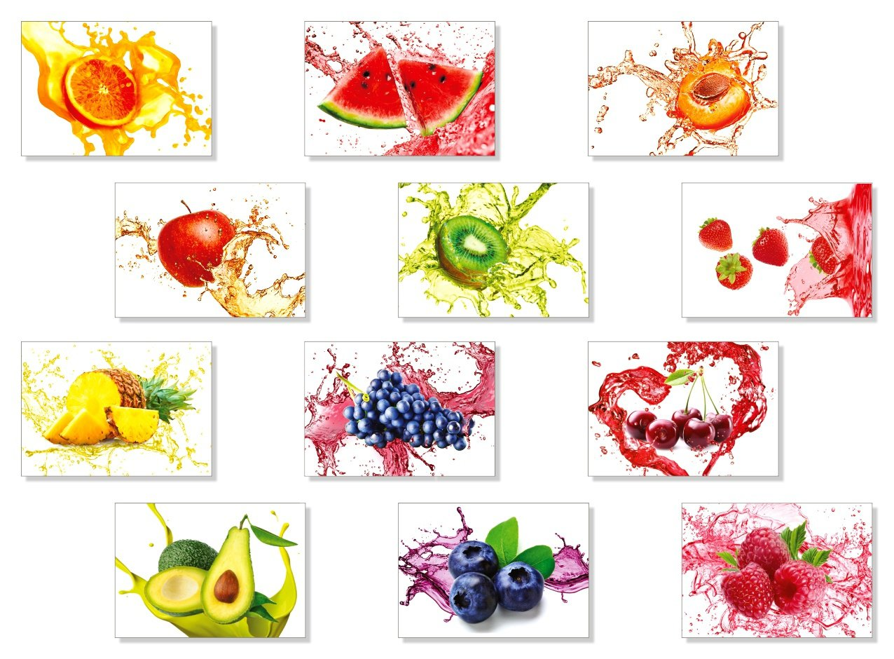 Fruits Magnets Mix 1