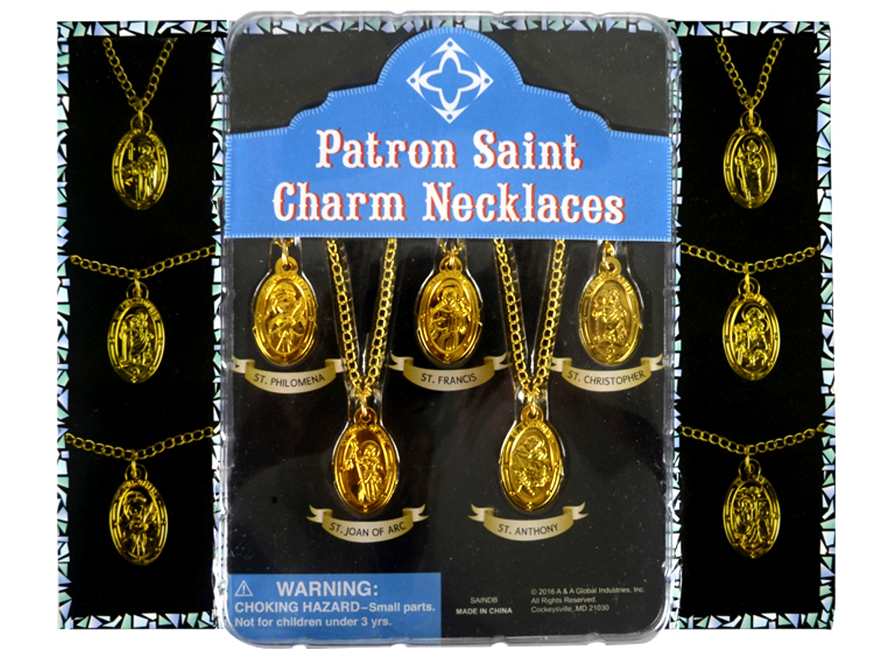 Patron Saints Necklaces 2