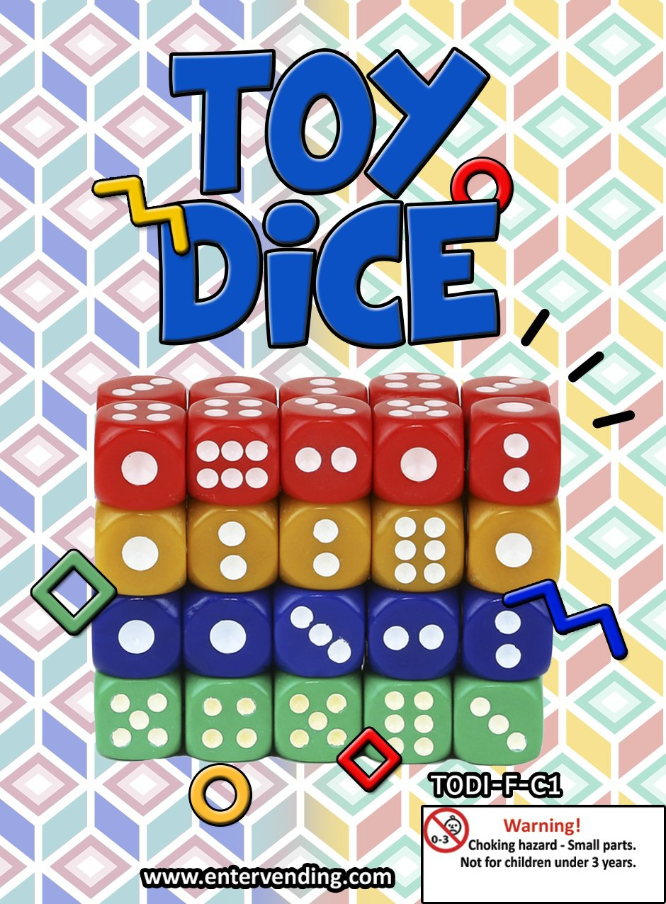 Toy Dice (display)
