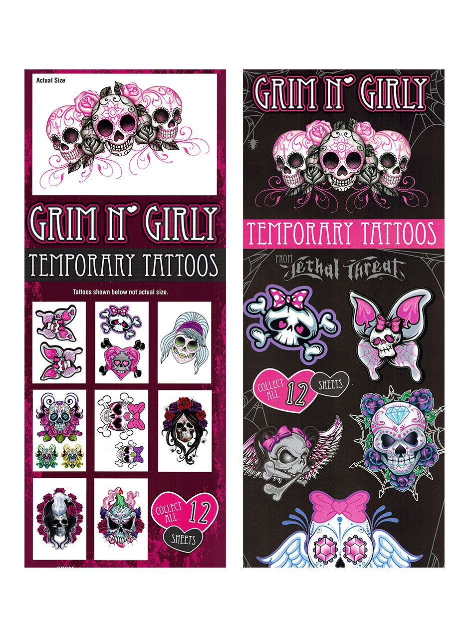 Tattoos Grim & Girly