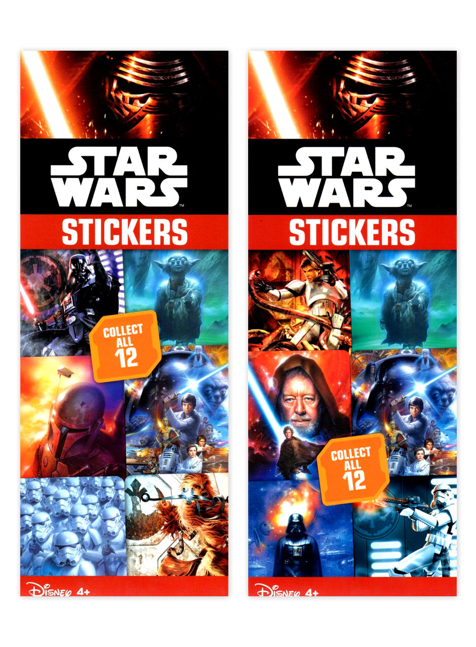 Star Wars Classic Stickers #2 (display)
