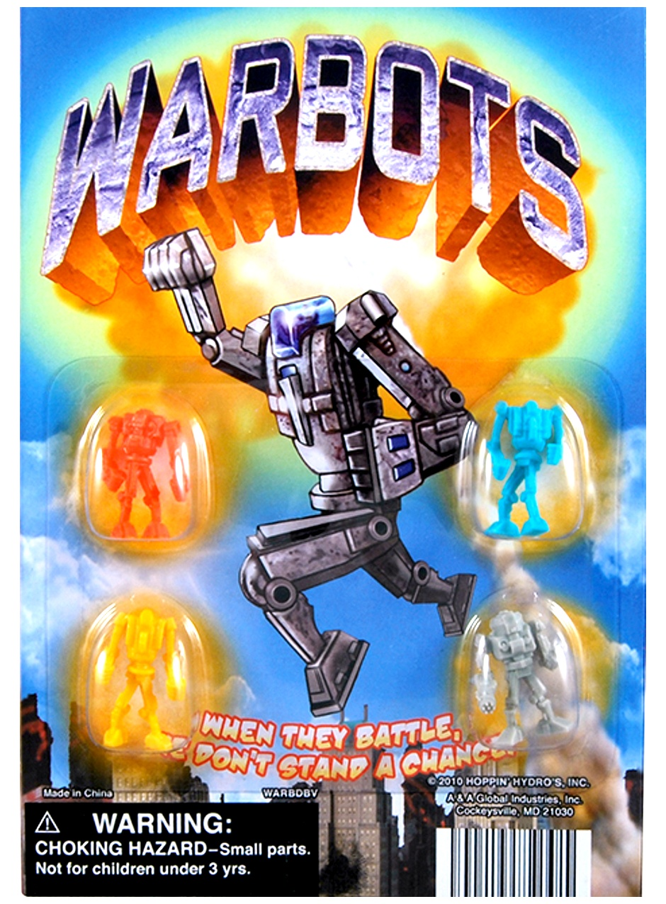 Warbots Figurines in 1