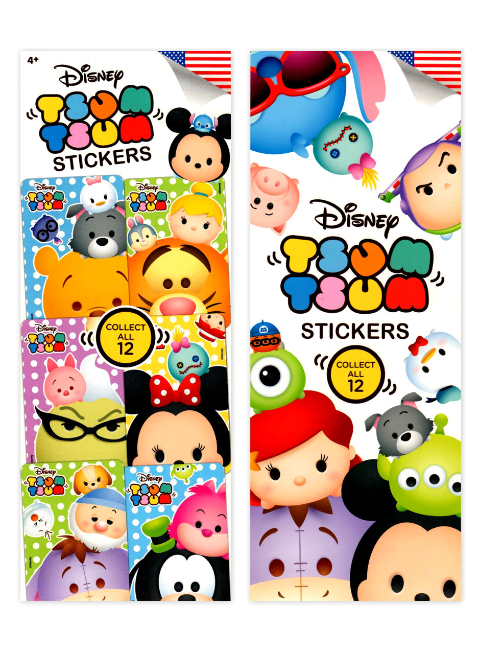 Disney's Tsum-Tsum Stickers (display)