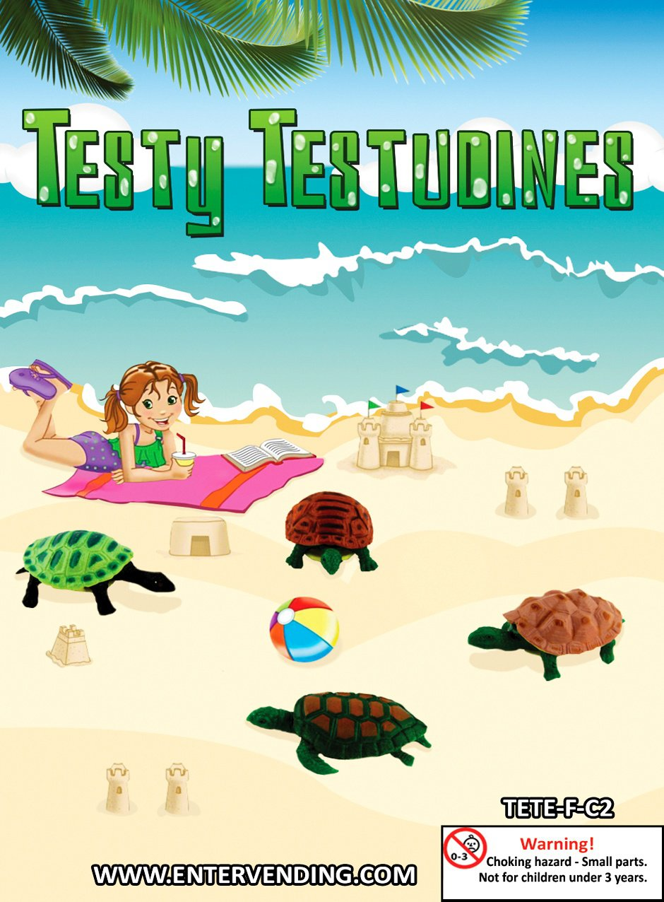 Testy Testudines (display)