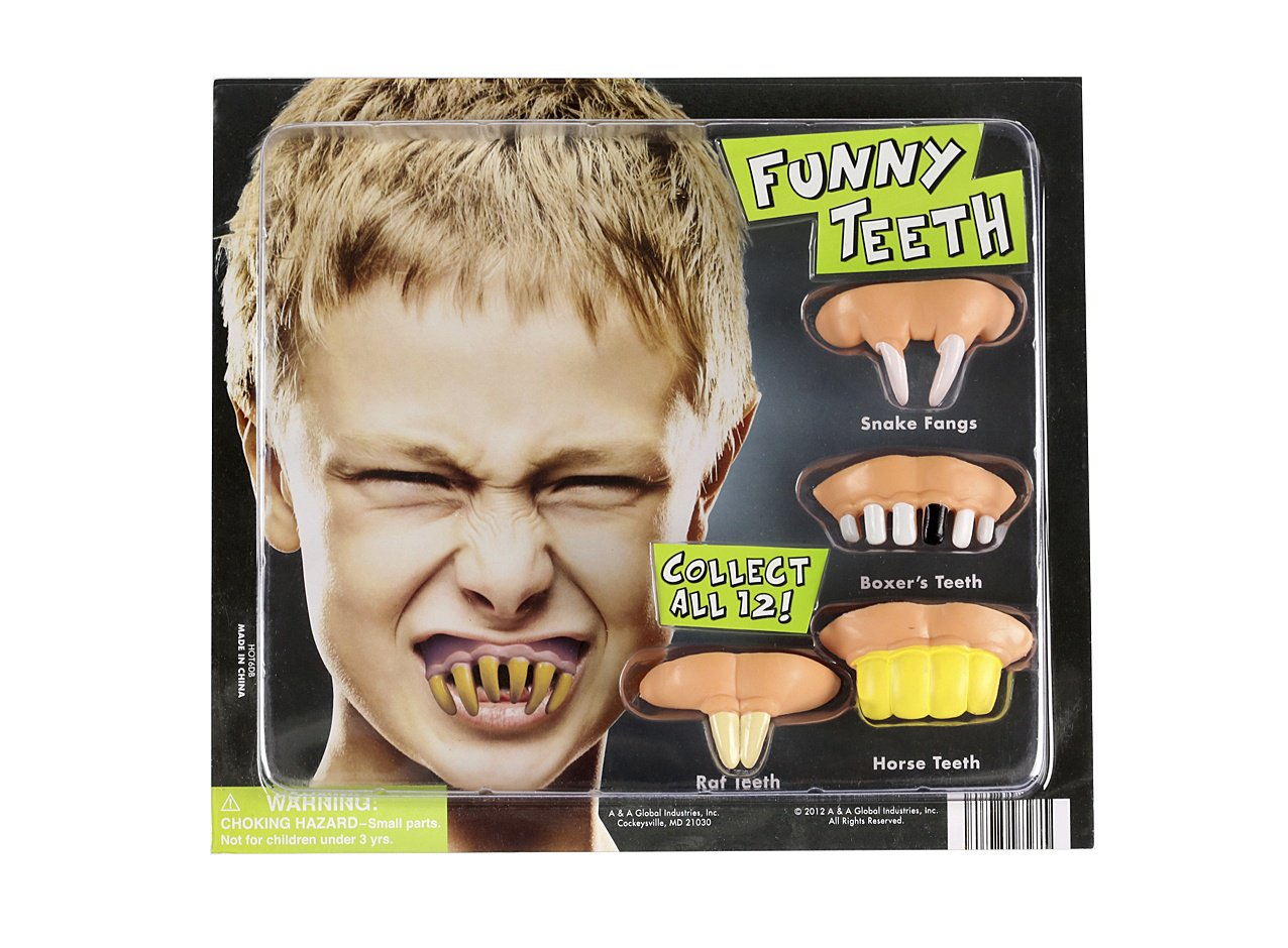 Funny Teeth (display)