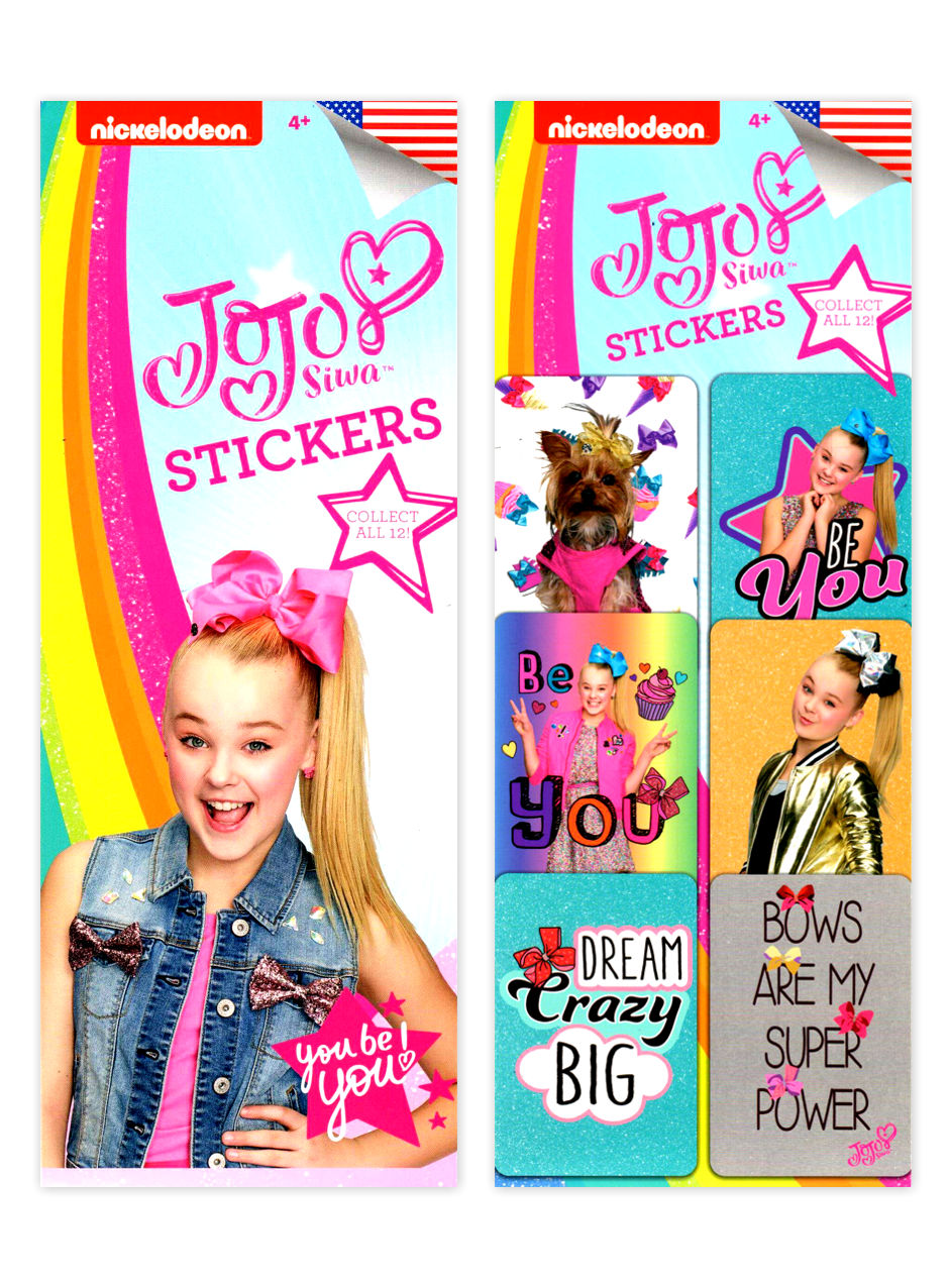 JoJo Siwa Stickers (display)