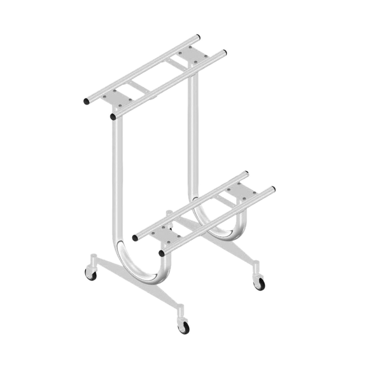 Stand for 4 machines (silver)
