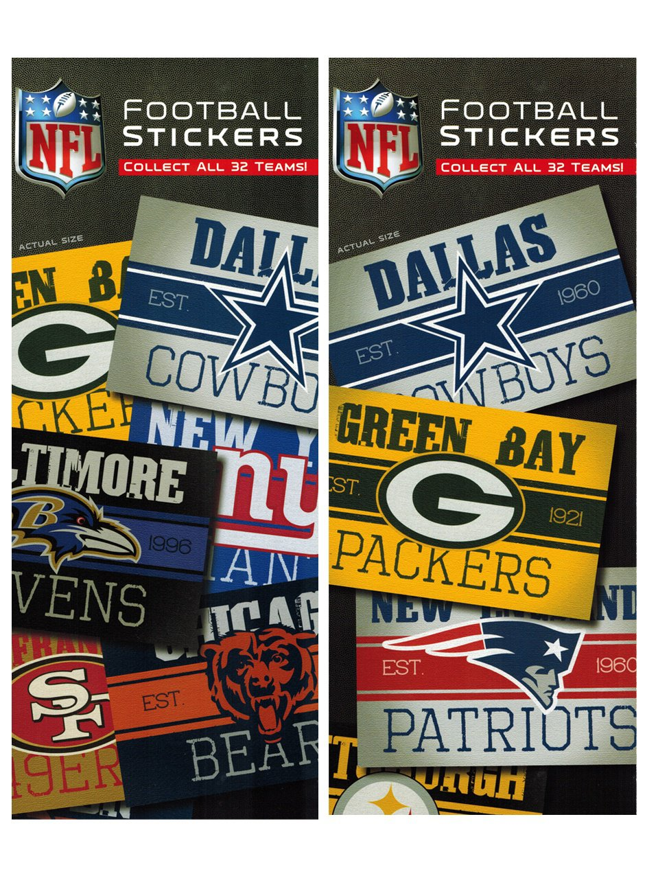 Stickers NFL Vintage