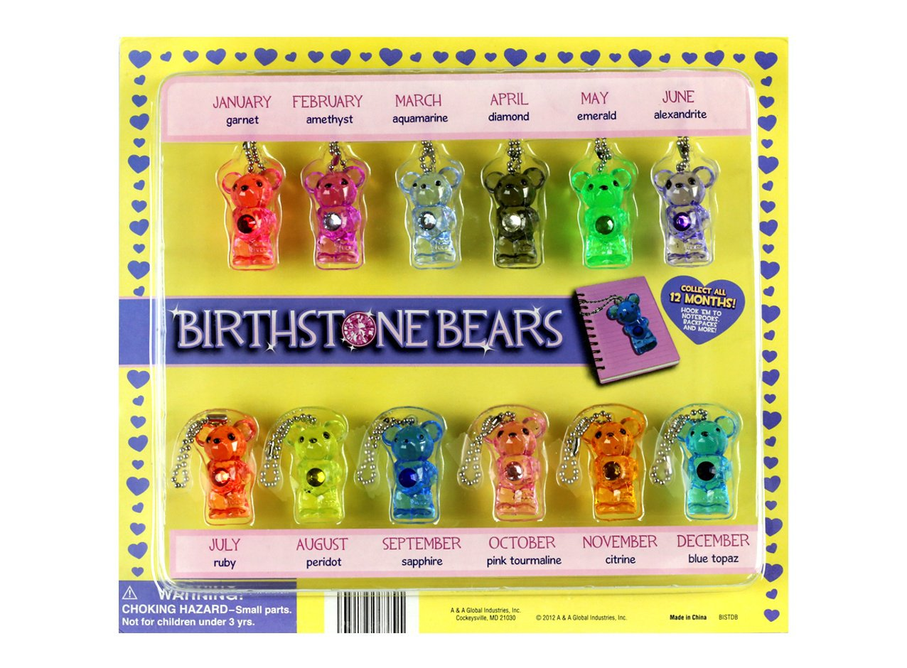 Birthstone Bears (display)