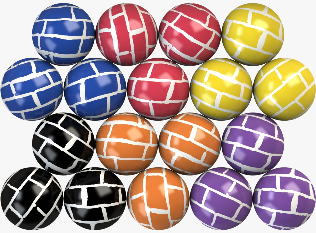 Brier Hi-Bounce Balls 32 mm
