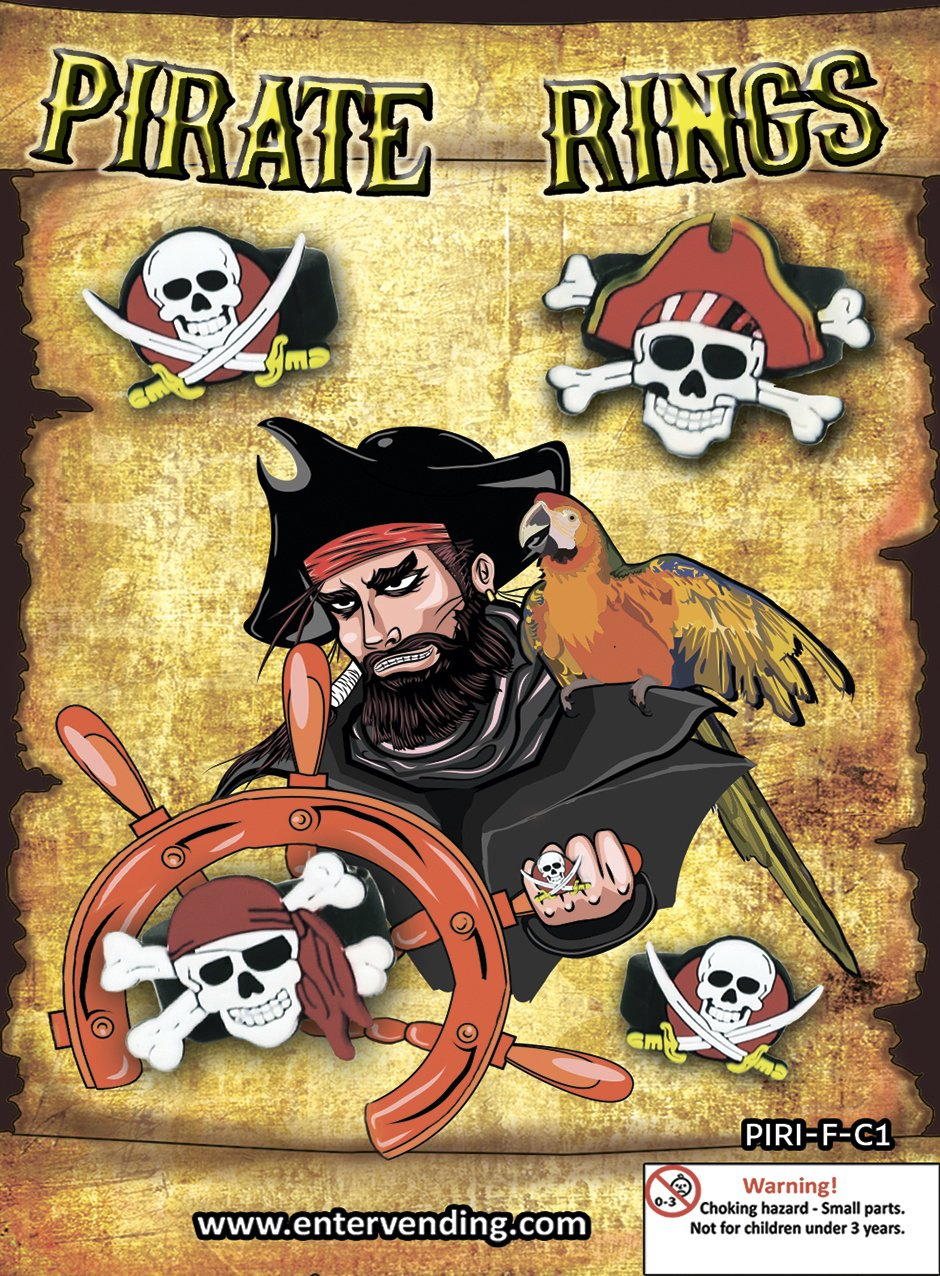 Pirate Rings Mix 1