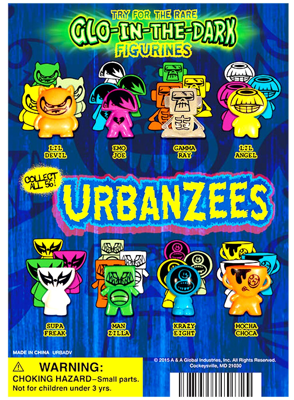 Urbanzees Figurines in 1
