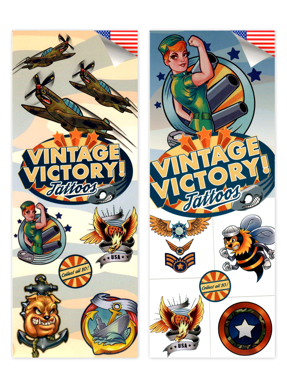 Vintage Victory Military Tattoos (display)