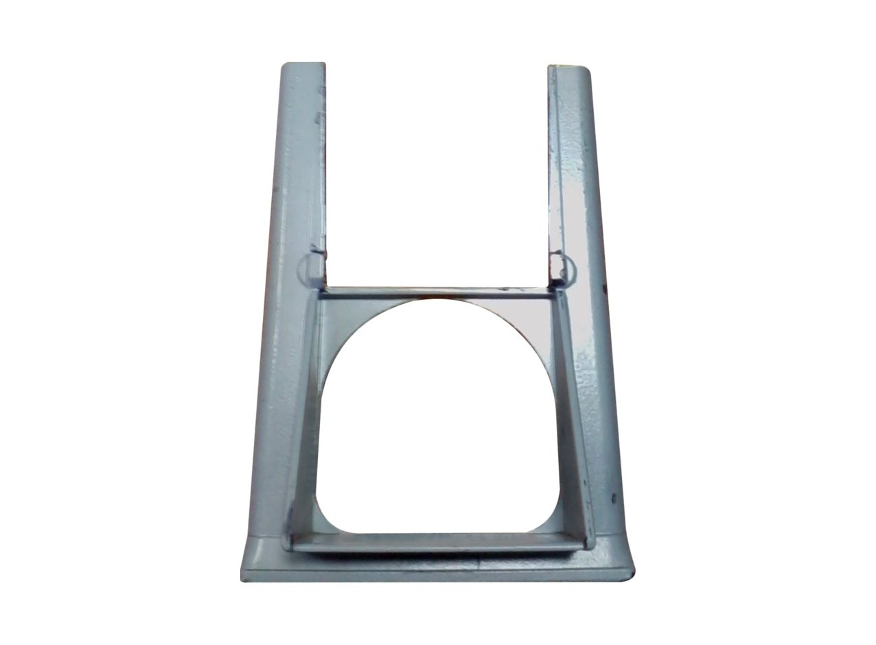 Chute Frame NB Powder Coated Silver