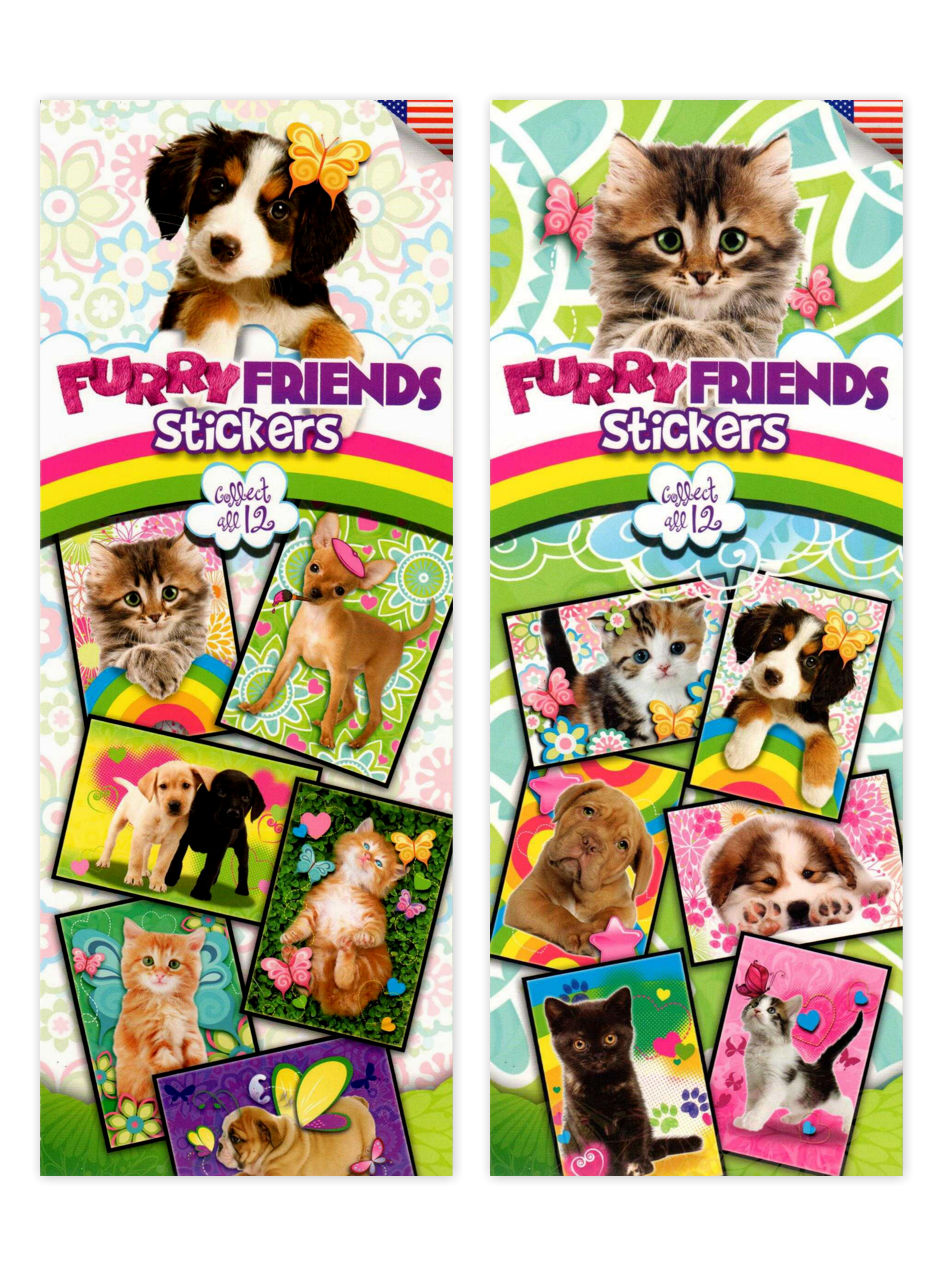 Furry Friends Stickers 3