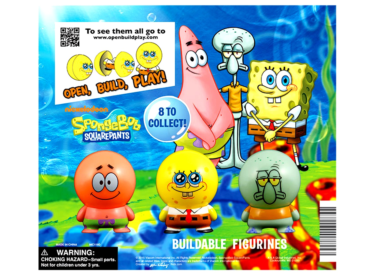 SpongeBob Capsule Buildables Figurines 2