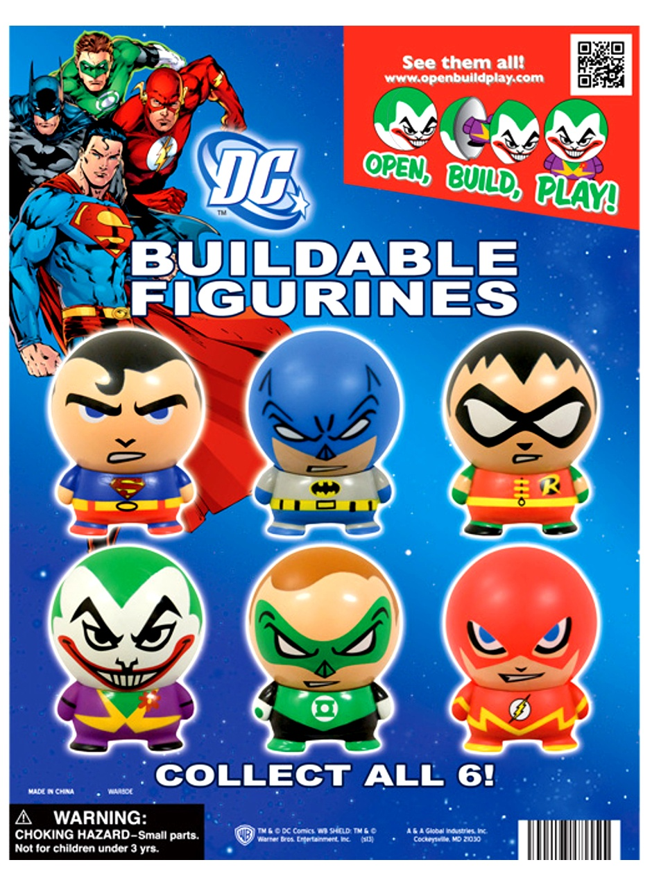 DC Comics Buildable Figurines in Bulk 2