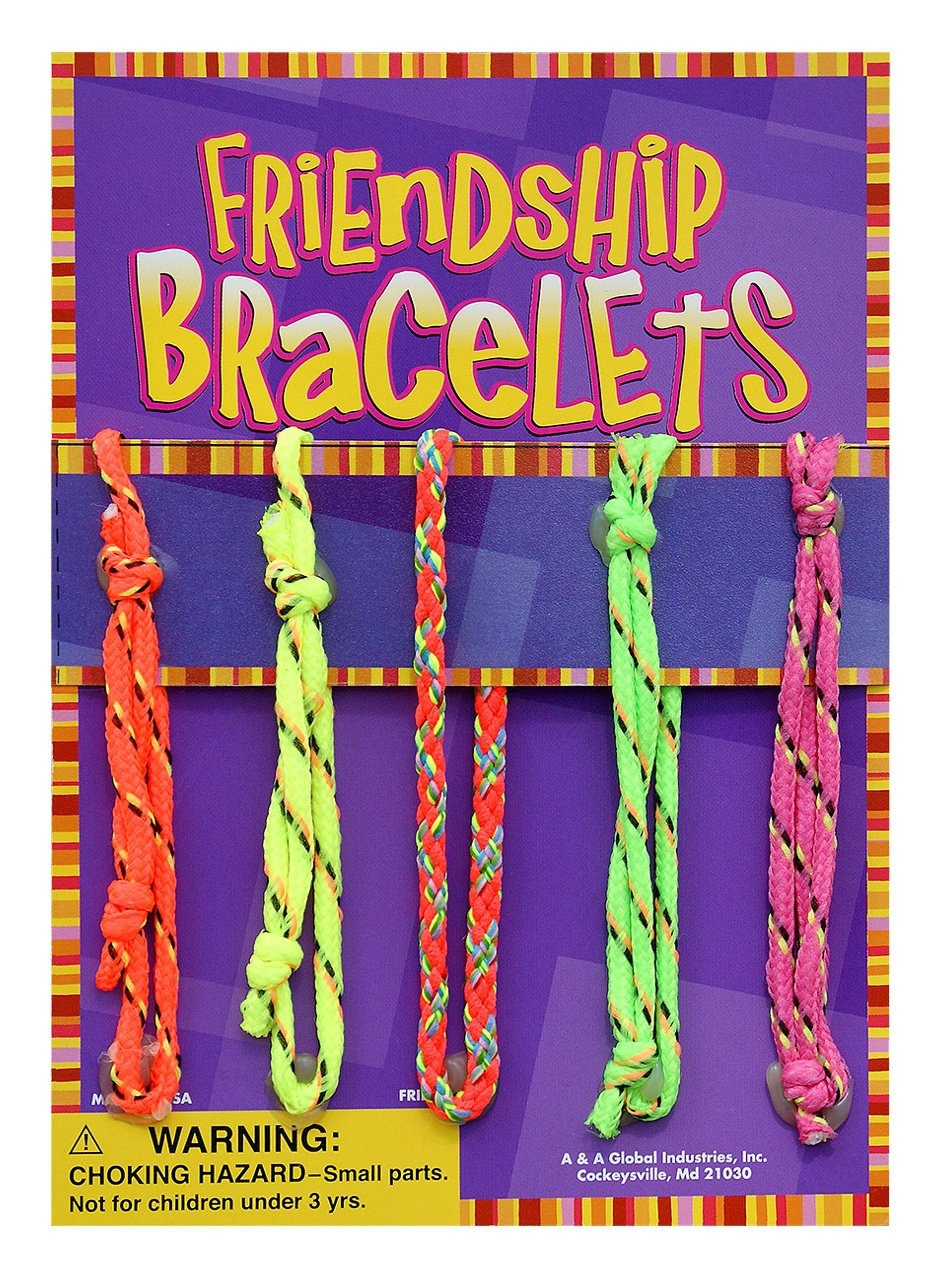 Friendship Bracelets (display)